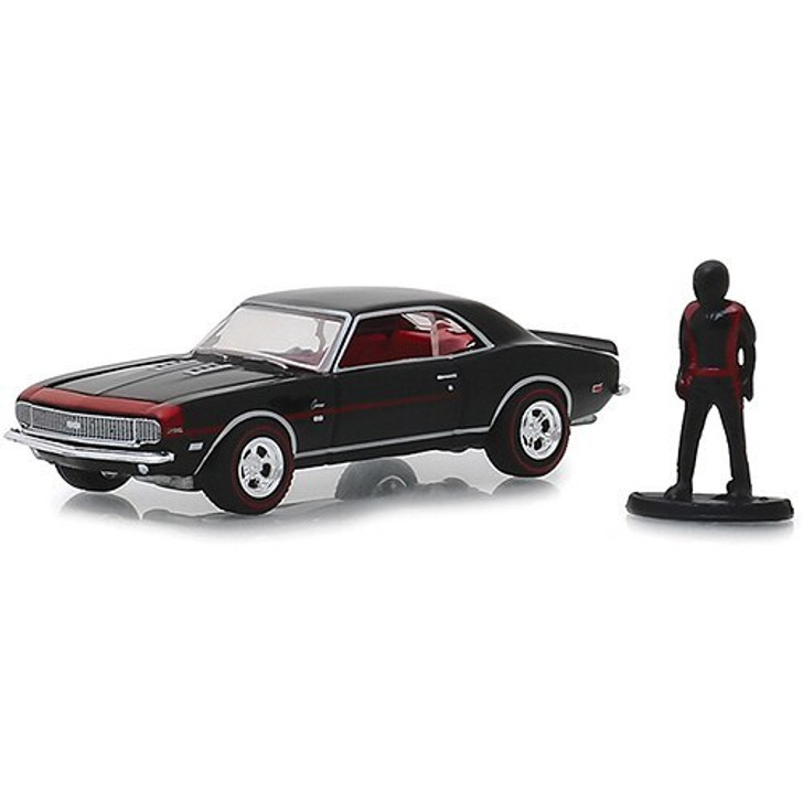 Greenlight 1968 Camaro RS/SS and Racing Driver Figure 164 Scale Diecast Model by Greenlight 19416NX