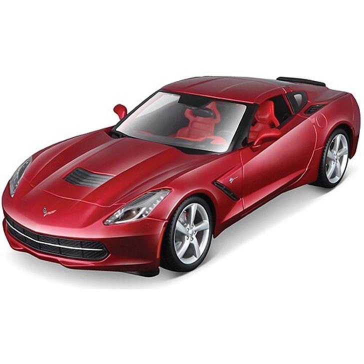 Maisto 2014 Corvette Stingray - red 118 Scale Diecast Model by Maisto 13240NX 90159311829