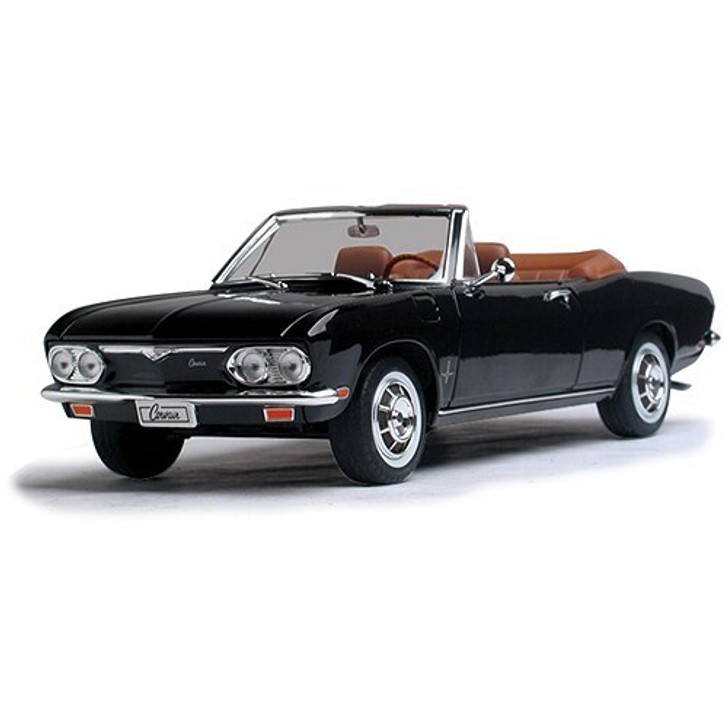 Road Signature 1969 Corvair Monza Convertible - black 118 Scale Diecast Model by Road Signature 14948NX 888693249810