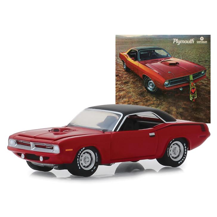 1970 Plymouth HEMI 'Cuda Authentic Ad Car Main Image