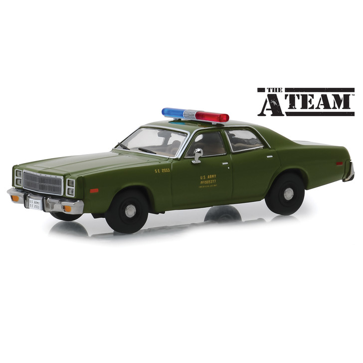 The A-Team 1977 Plymouth Fury U.S. Army Police Main Image