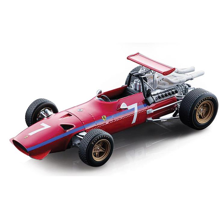 1968 Derek Bell Ferrari 312 - #7 Watkins Glen Main Image