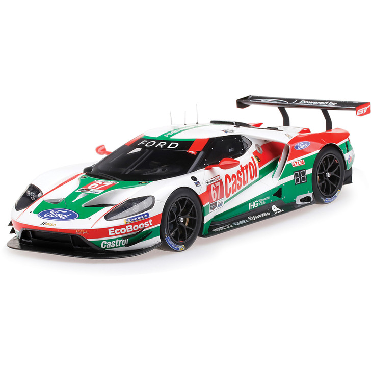 2019 Ford GT GTLM #67 Daytona 24 Hour - Chip Ganassi Team USA 1:18 Scale Diecast Model by Top Speed Main Image