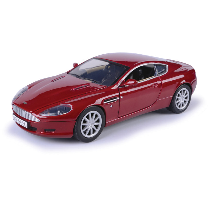Aston Martin DB9 Coupe - Red 1:24 Scale Diecast Model by Motormax Main Image