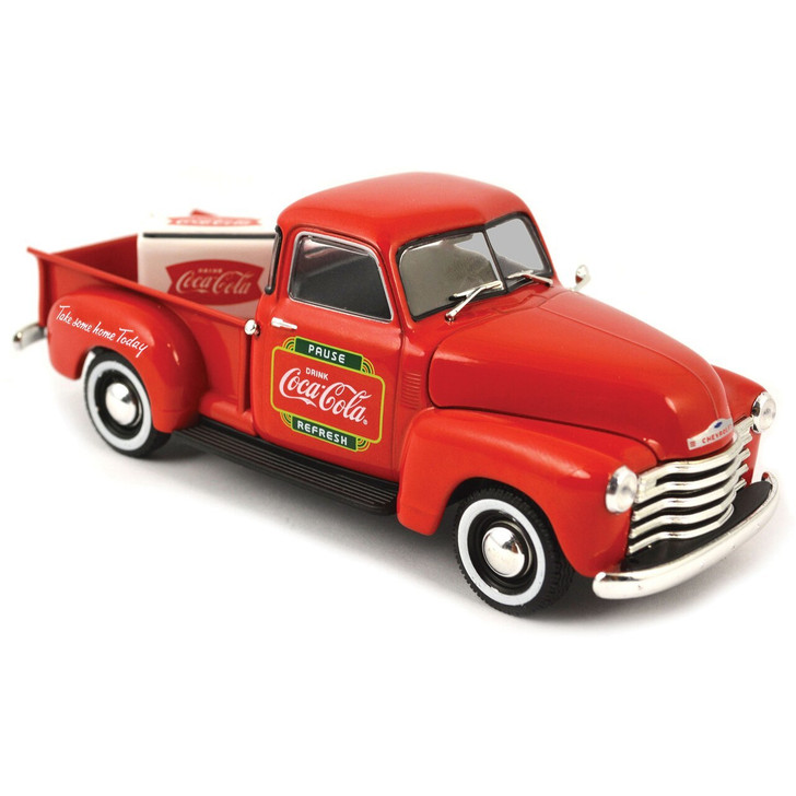 Motor City Classics 1953 Chevy Coca-Cola Pickup and Cooler 143 Scale Diecast Model by Motor City Classics 14933NX 687312781041
