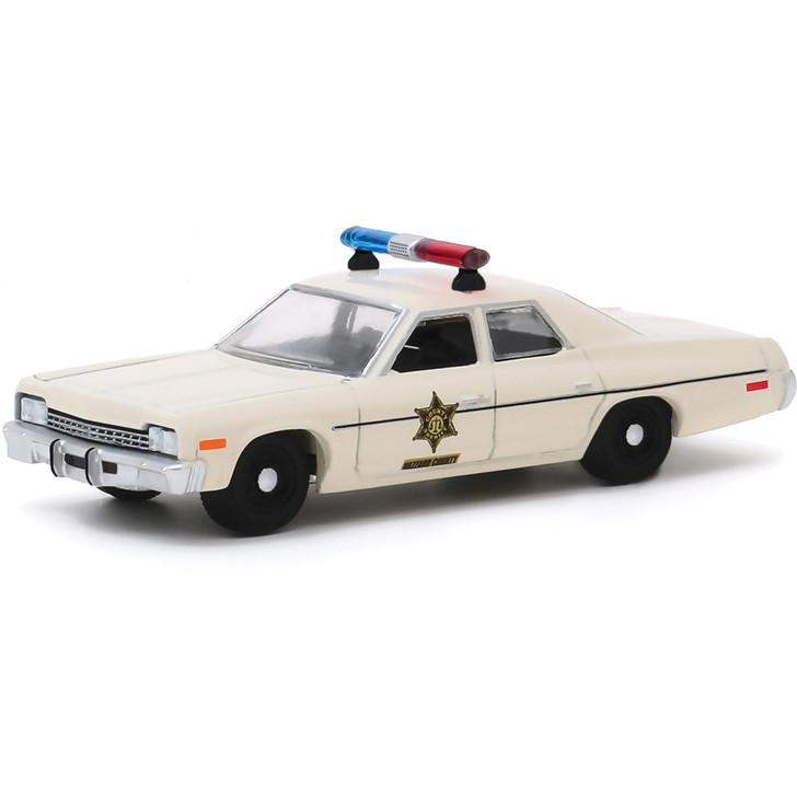 1975 Dodge Monaco - Hazzard County Sheriff 1:64 Scale Diecast Model by Greenlight Main Image