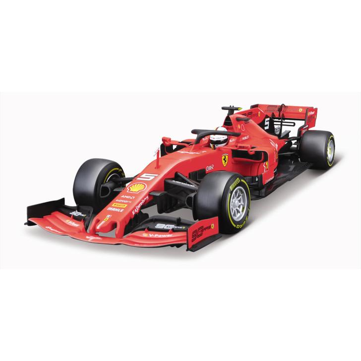 Scuderia Racing - 2019 Formula 1 Season Car 1:18 Scale Diecast Model by Bburago Main Image