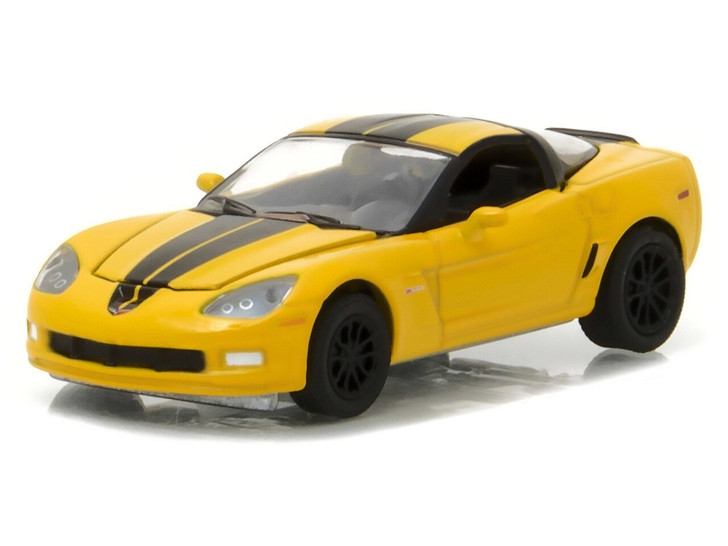 Greenlight 164 General Motors Collection Series 2 - 2012 Chevrolet Corvette Z06 - Velocity Yellow Solid Pack 164 Scale Diecast Model by Greenlight GL27875-A