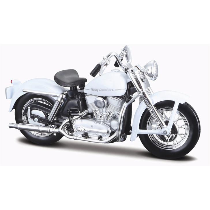 1952 Harley K Model 1:18 Scale Diecast Model by Maisto Main Image