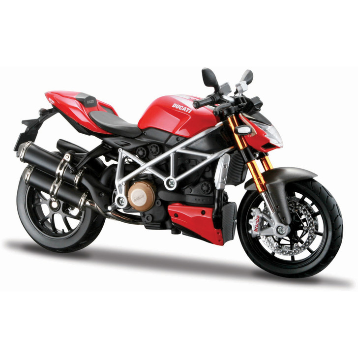DUCATI MOD. STREETFIGHTER S 1:12 Scale Diecast Model by Maisto Main Image