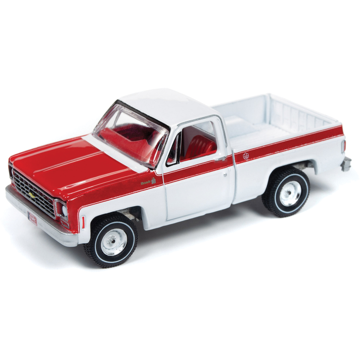1976 Chevy Scottsdale Truck 1:64 Scale Diecast Model by Auto World Main Image