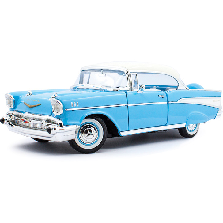 1957 Chevy Bel Air Hardtop Coupe 1:18 Scale Diecast Model by Lucky Main Image