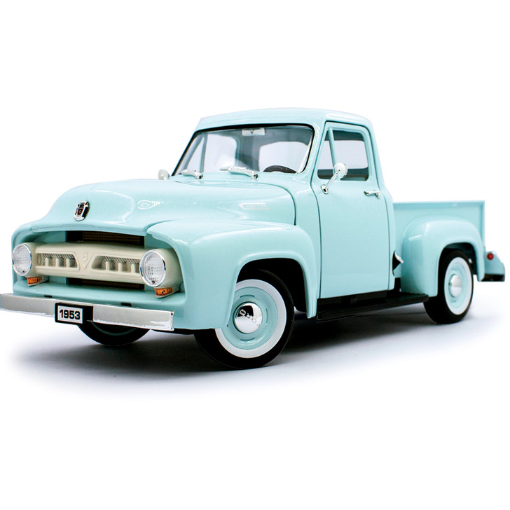 1953 Ford F-100 Pickup 1:18 Scale Diecast Model by Lucky Main Image