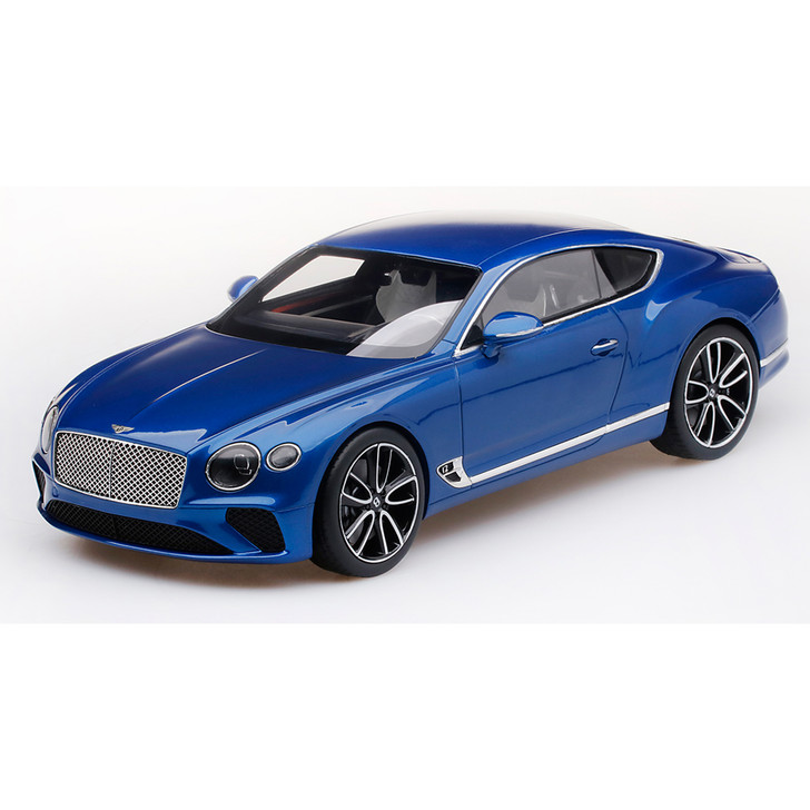 Bentley Continental GT - Sequin Blue 1:18 Scale Diecast Model by Top Speed Main Image