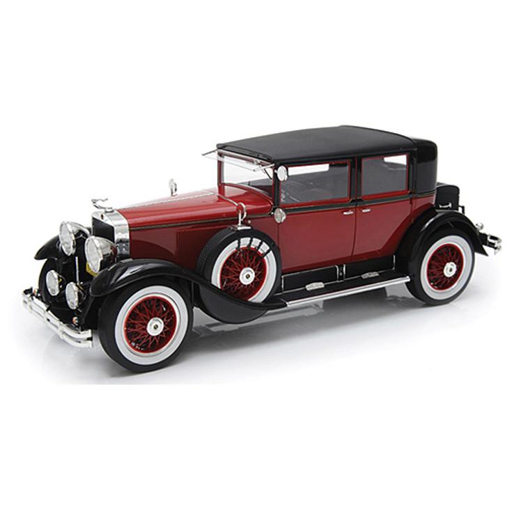1928 Cadillac 341A Town Sedan - red/black Main Image