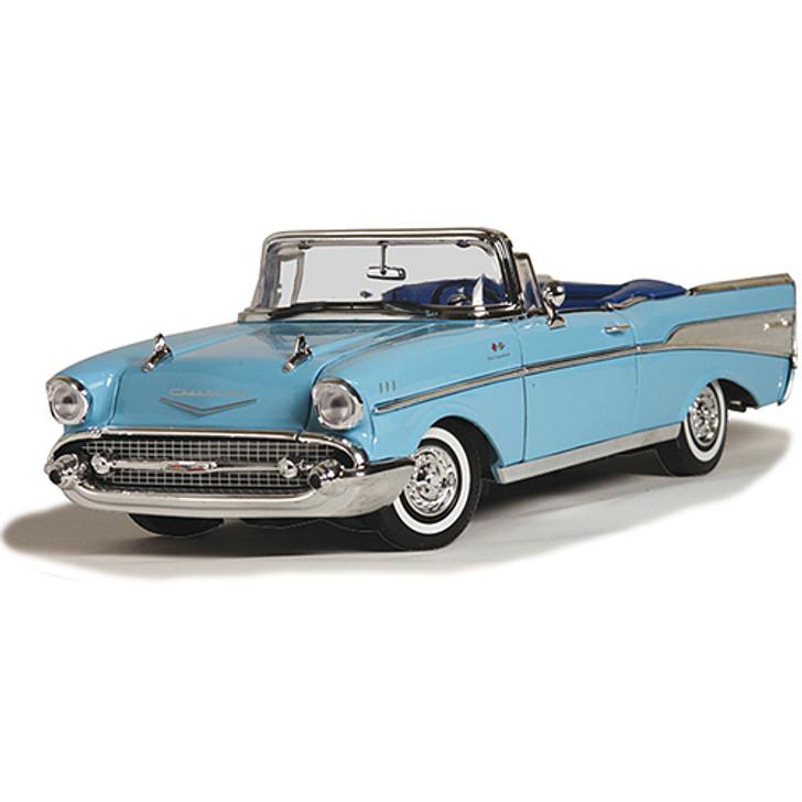 1957 Chevy Bel Air Convertible - Blue Main Image