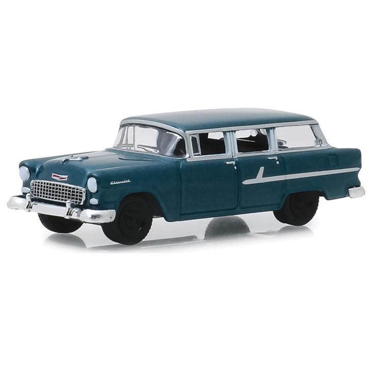 Greenlight Vanishing Point 1955 Chevrolet Townsman - Just Married 164 Scale Diecast Model by Greenlight 19620NX