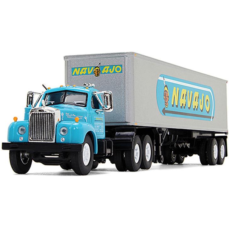 Navajo Freight Lines Mack B-61 Tractor Trailer Main Image