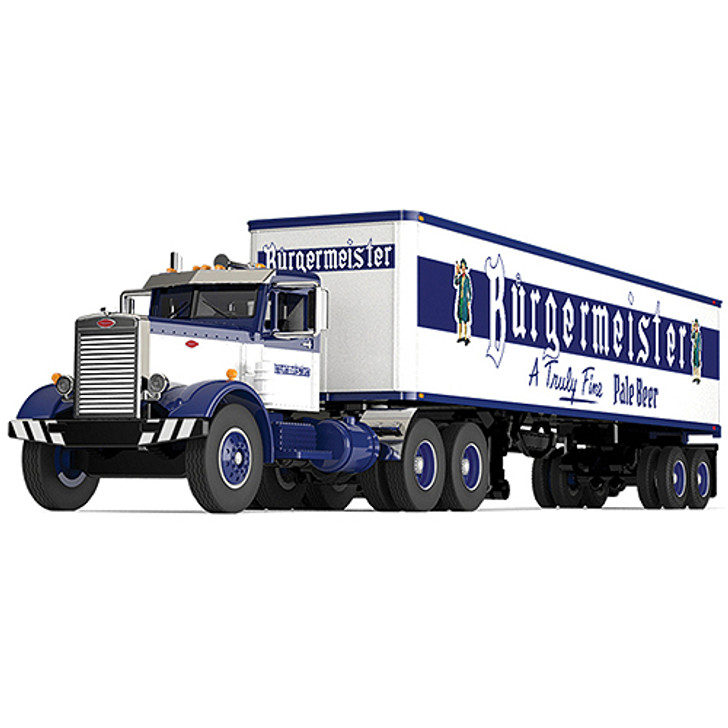 Burgermeister Beer Peterbilt 351 Tractor Trailer Main Image
