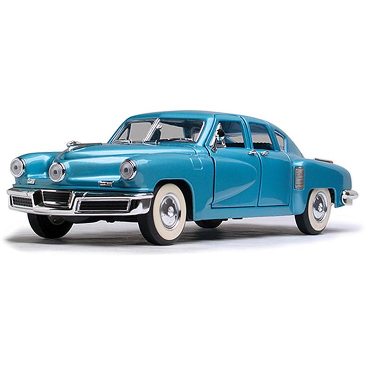 1948 TUCKER TORPEDO - BLUE 1:18 Scale Diecast Replica Model