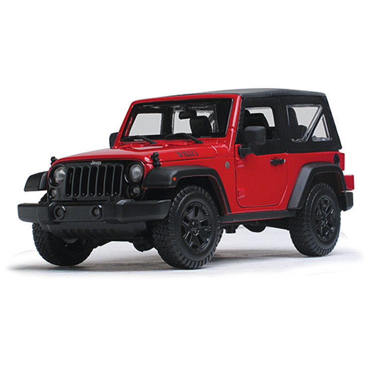 Jeep Willys Wrangler Hardtop - red Main Image