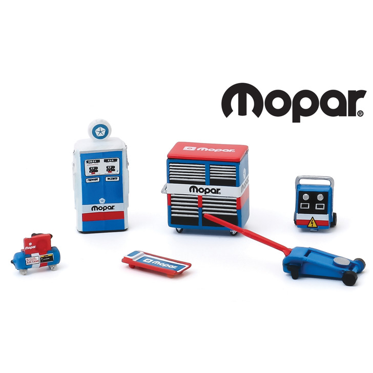 MOPAR Auto Body Shop Tools 1:64 Scale Diecast Model by Greenlight Main Image