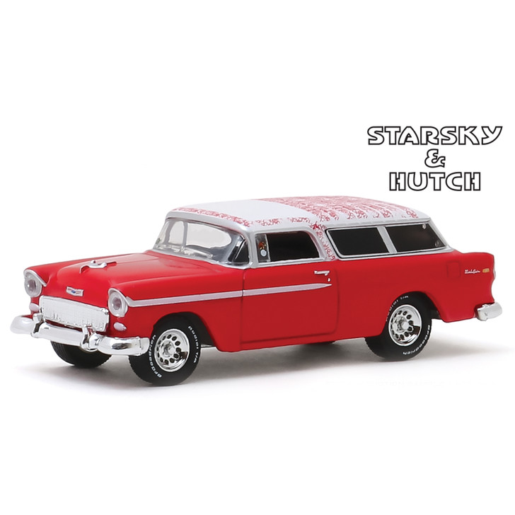 Starsky and Hutch 1955 Chevrolet Nomad 1:64 Scale Diecast Model by Greenlight Main Image