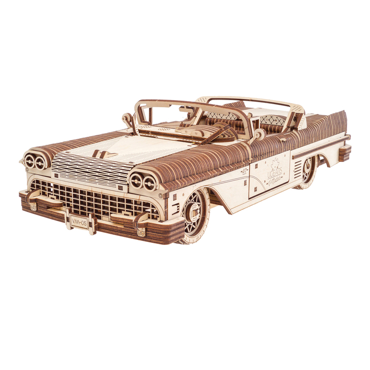 Fifties Dream Car Wooden Model Kit Main Image