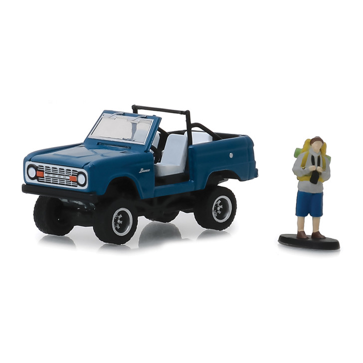 1967 Ford Bronco Convertible & Backpacker Figure Main Image