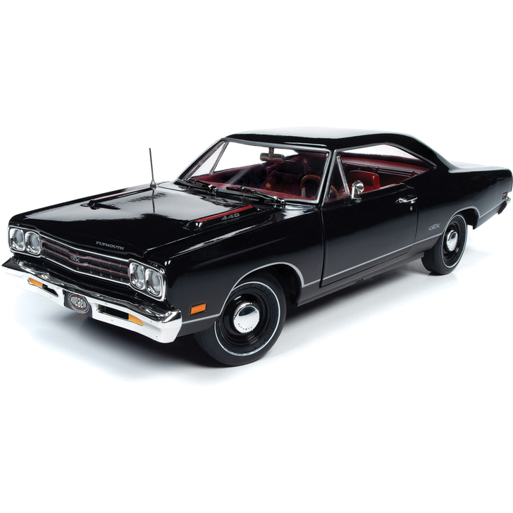 1969 Plymouth GTX Hardtop MCACN 1:18 Scale Diecast Model by American Muscle Main Image