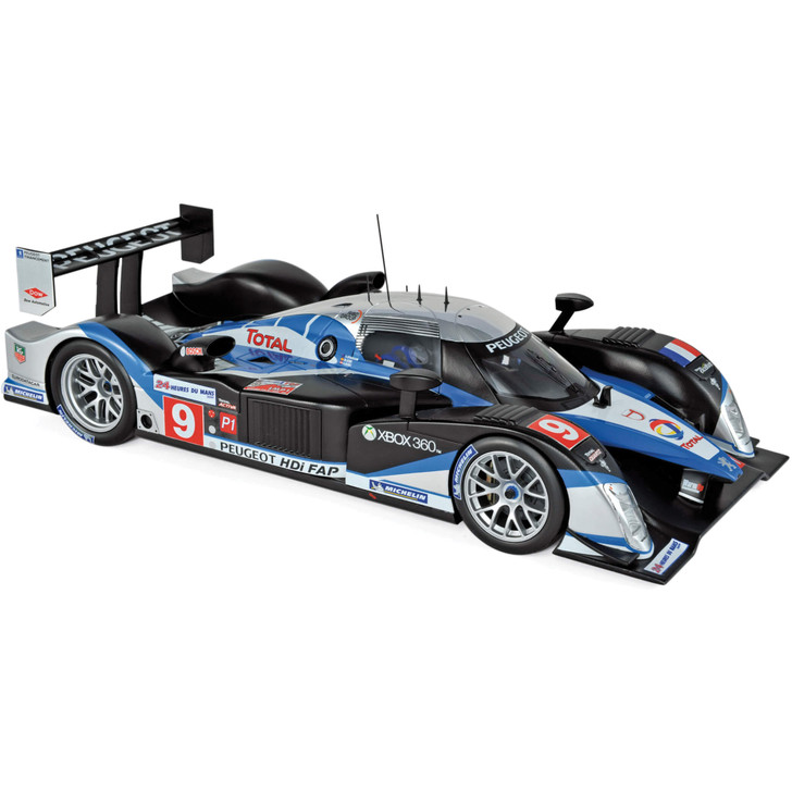 Peugeot 908 HDI FAP - 2009 24 Hours of Le Mans Winner 1:18 Scale Diecast Model by Norev Main Image