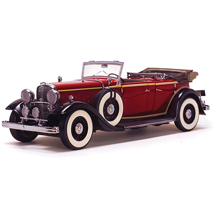 1932 Lincoln KB Top Down - red Main Image