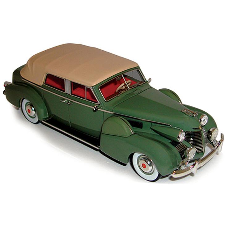 1939 Cadillac Series 75 Convertible Sedan - green Main Image
