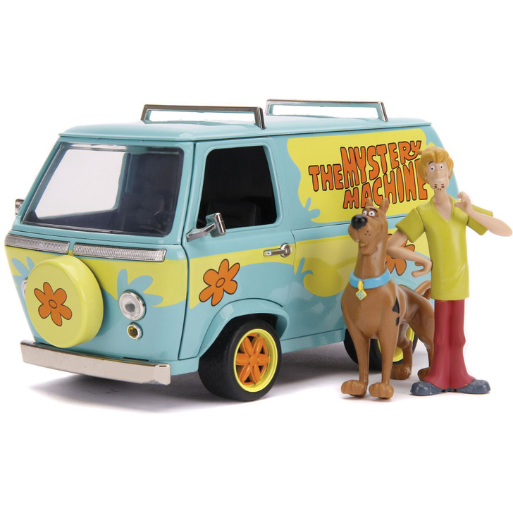 Mystery Machine with Scooby Doo & Shaggy Main Image