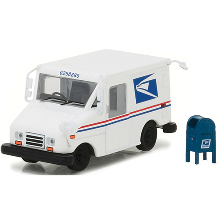 USPS Long Life Postal Delivery Truck & Mailbox Main Image