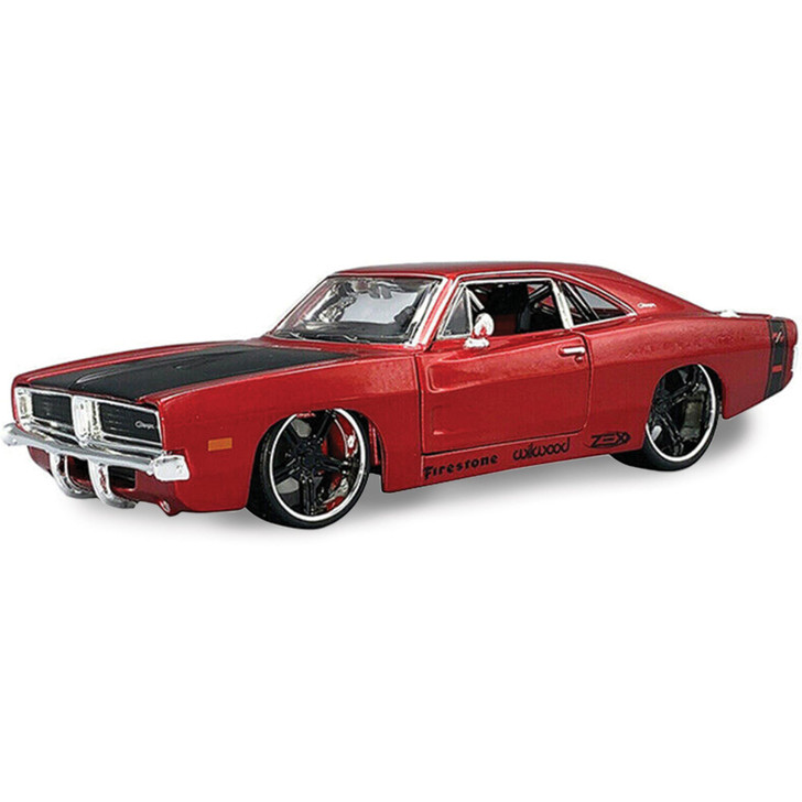 1969 Dodge Charger R/T 1:24 Scale Diecast Replica Model