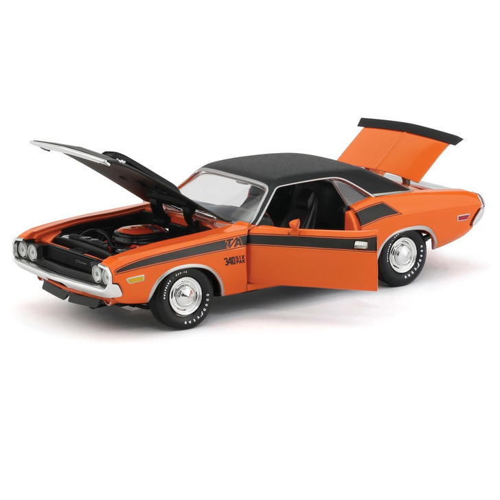 M2 Machines 1970 Dodge Challenger T/A 124 Scale Diecast Model by M2 Machines 20081NX
