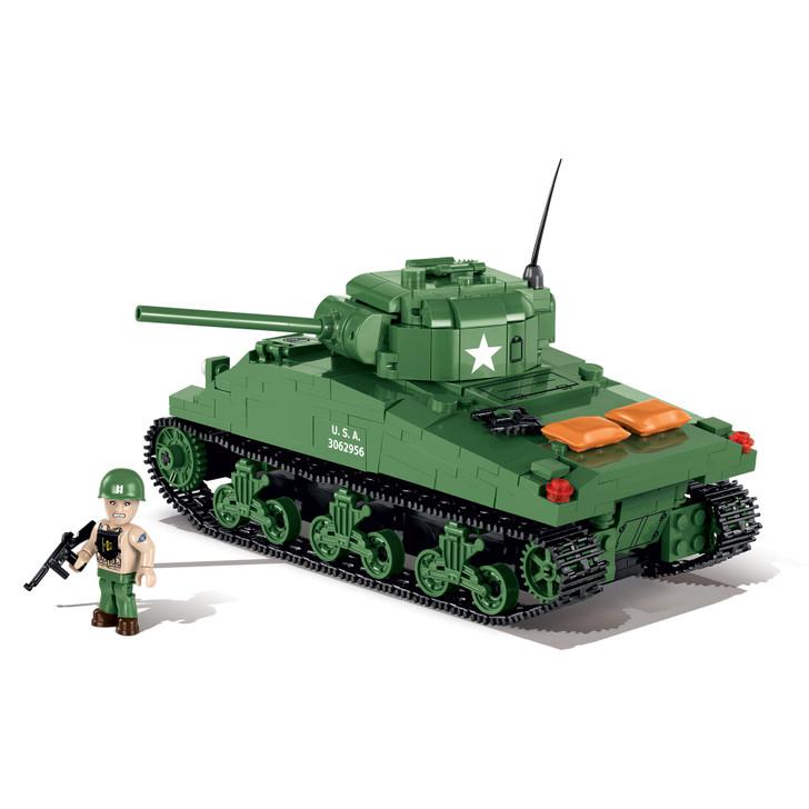 Sherman Tank Construction Building Kit Main Image