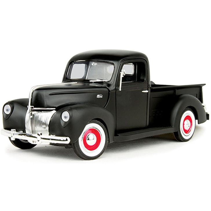 1940 Ford Matte Black Pickup Main Image