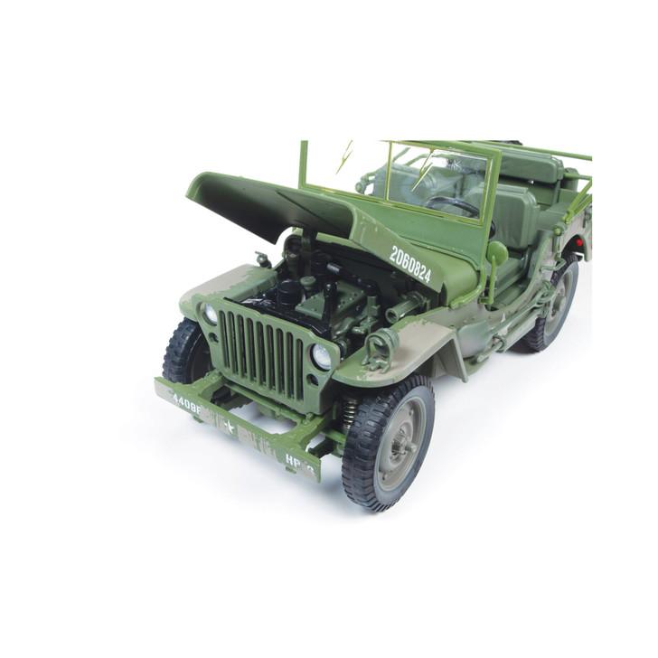 WWII U.S. Army Muddy Jeep Alt Image 6