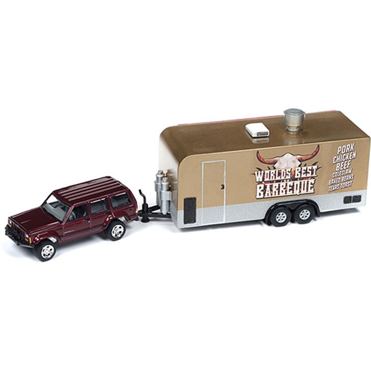 1998 Jeep Cherokee BBQ Food Truck Main Image