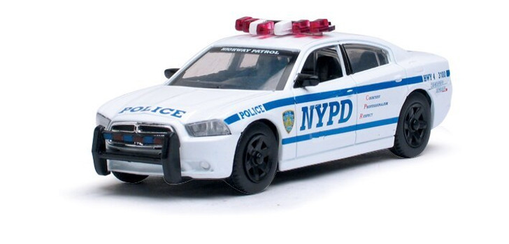 Motormax NYPD 2013 Dodge Charger Police Car 143 143 Scale Diecast Model by Motormax 13230NX