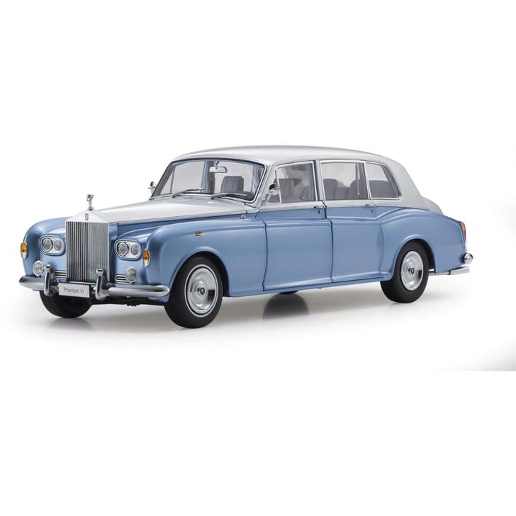 Rolls-Royce Phantom VI - Light Blue & Silver Main Image