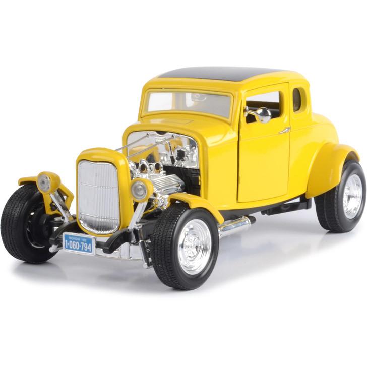 1932 Ford 5-Window Hot Rod - yellow Main Image