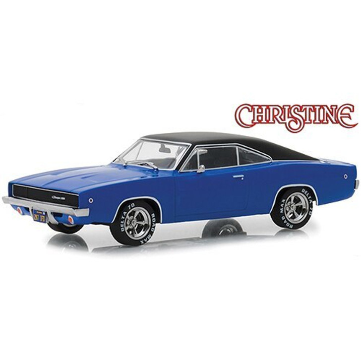 Greenlight Dennis Guilders Christine 1968 Dodge Charger R/T 164 Scale 164 Scale Diecast Model by Greenlight 19218NX