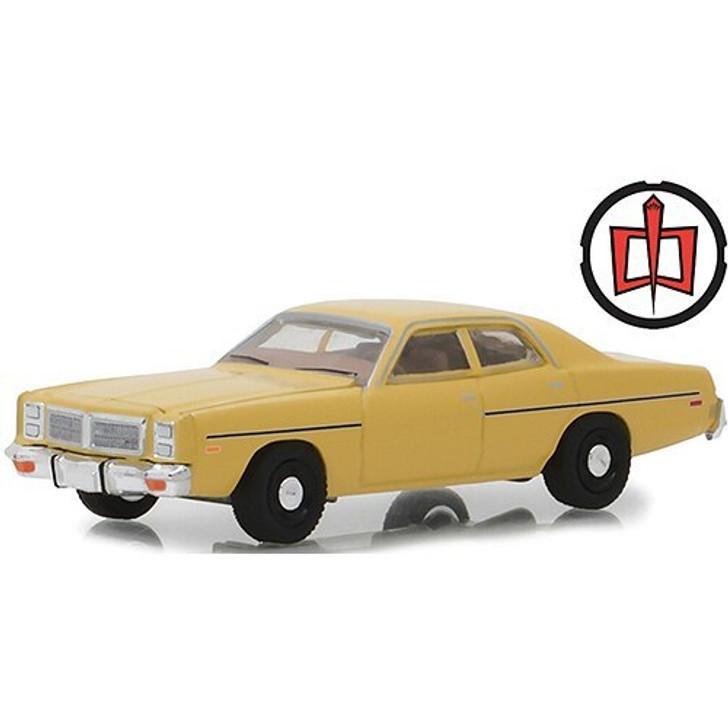 Greenlight The Greatest American Hero 1978 Dodge Monaco 164 Scale Diecast Model by Greenlight 18270NX