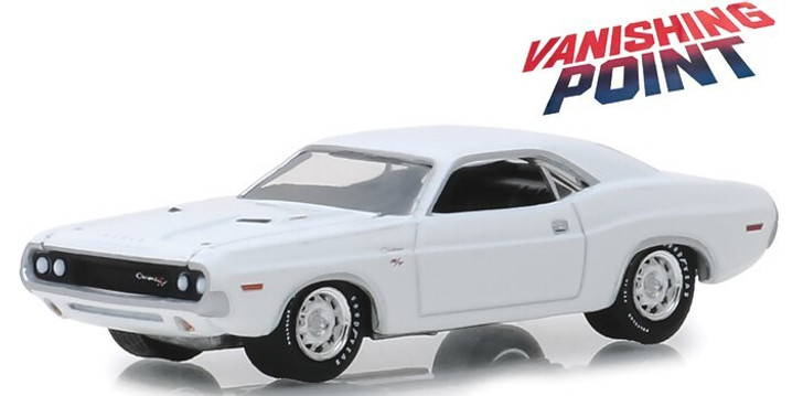 Greenlight Vanishing Point 1970 Dodge Challenger R/T 164 Scale Diecast Model by Greenlight 19177NX