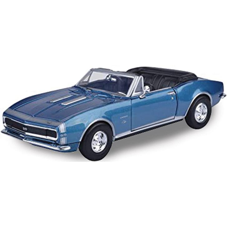 1967 Chevy Camaro SS Convertible - Blue Main Image