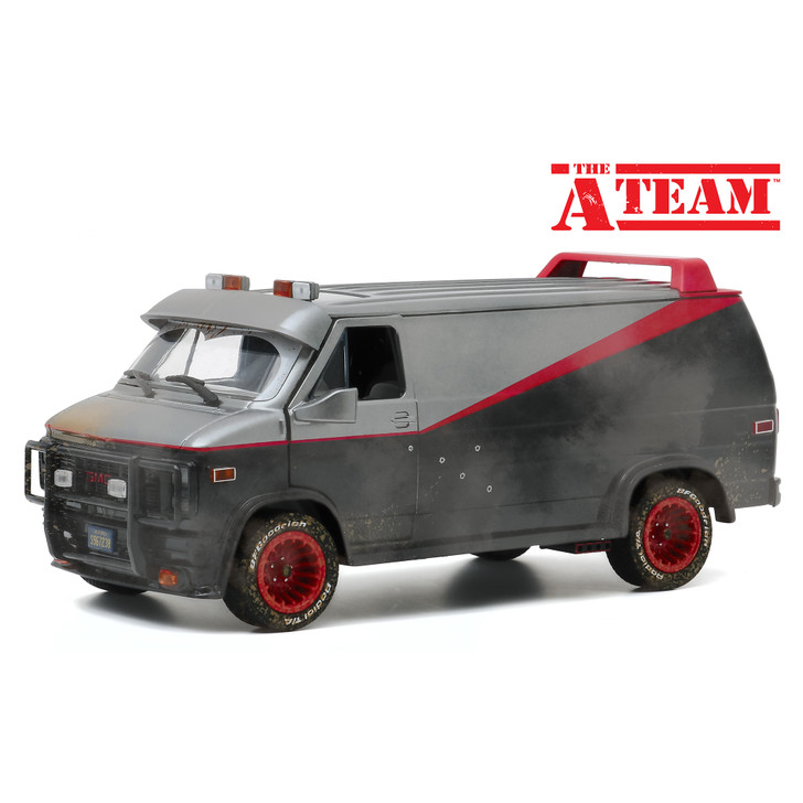 The A-Team  Weathered 1983 GMC Vandura with Bullet Holes Main Image