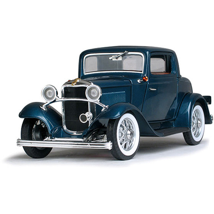1932 Ford 3 Window Coupe - blue Main Image